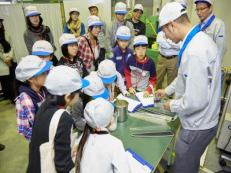 Workplace tour: Plastic molding factory