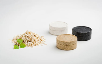 Molded products using biodegradable materials